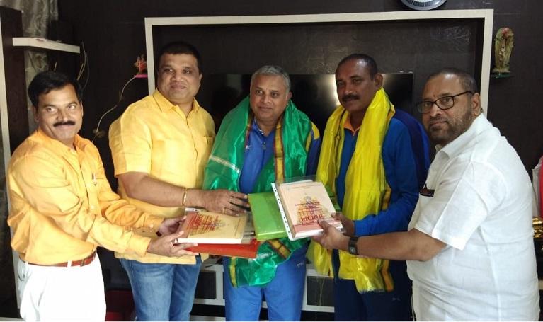 Felicitation to Padmasree Shri Mukesh garu