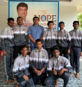 PJR KABADDI Team మెంబెర్స్ కి Tracks అందచేత…
