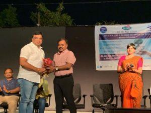 Greater Hyderabad కమిషనర్ చేతుల మీదుగా సన్మానం …