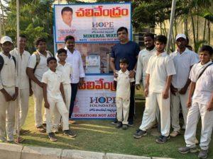 చందానగర్ PJR స్టేడియం లో చలివేంద్రం ఏర్పాటు…