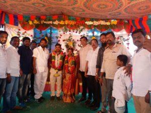 MLA Srinivas Goud gari PA… Raju Marriage Recieption at Amrabad, Achampet
