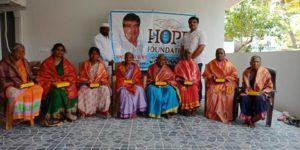 Hope Foundation అద్వర్యంలో మాతృ.దినోత్సవ వేడుకలు