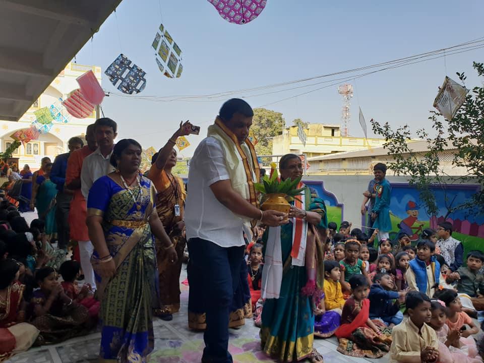 Oxford School, Taranagar లో సంక్రాంతి వేడుకలు…